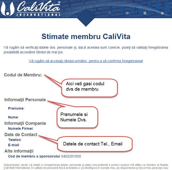 Email de la Calivita